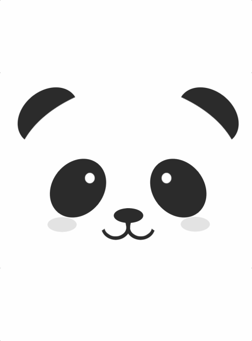 Tete de panda pand3 m3 goodies by sportcam - Tete de panda dessin ...